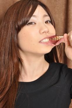 佐々木絵美 歯の写真撮影風景